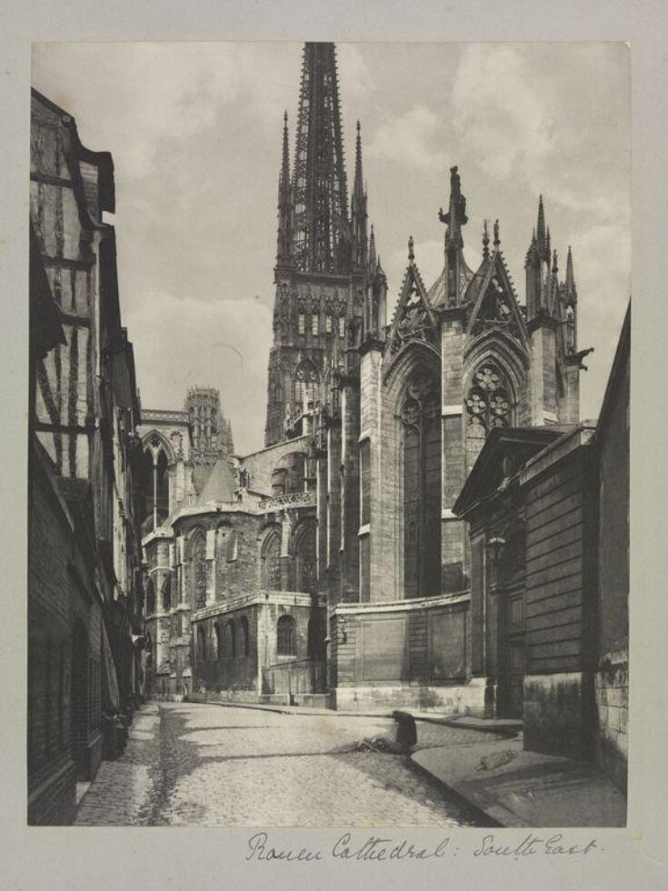 Rouen Cathedral, south east top image