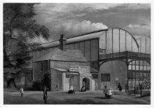 South Kensington Museum: South End of Iron Building thumbnail 1