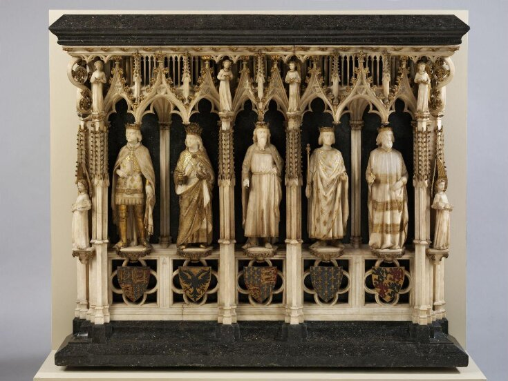 Model for the proposed restoration of the monument to Queen Philippa of Hainault top image