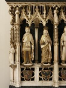 Model for the proposed restoration of the monument to Queen Philippa of Hainault thumbnail 1
