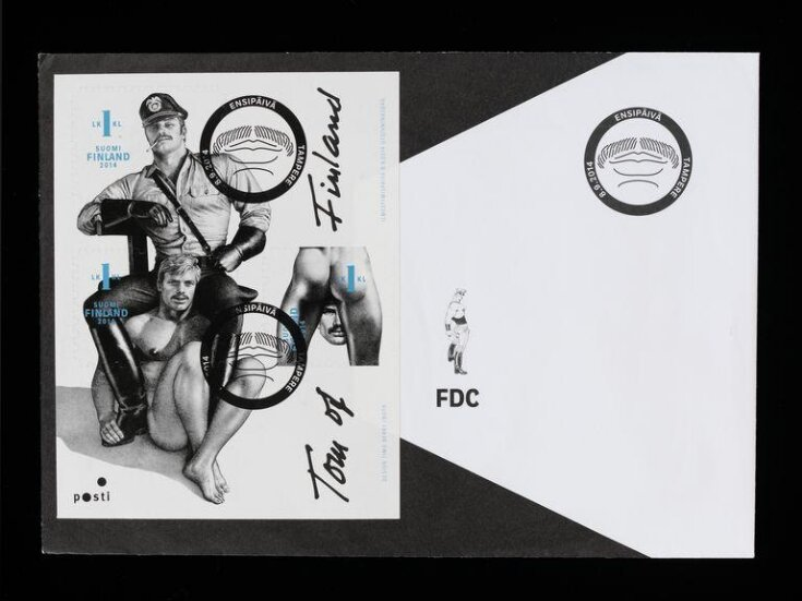 Tom of Finland stamps  top image