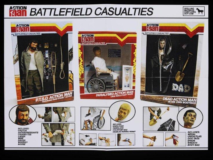 Action Man. Battle Field Casualties top image