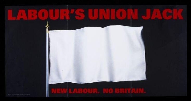 Labour's Union Jack. New Labour. No Britain. top image