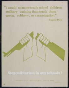 Stop Militarism in our Schools! thumbnail 1
