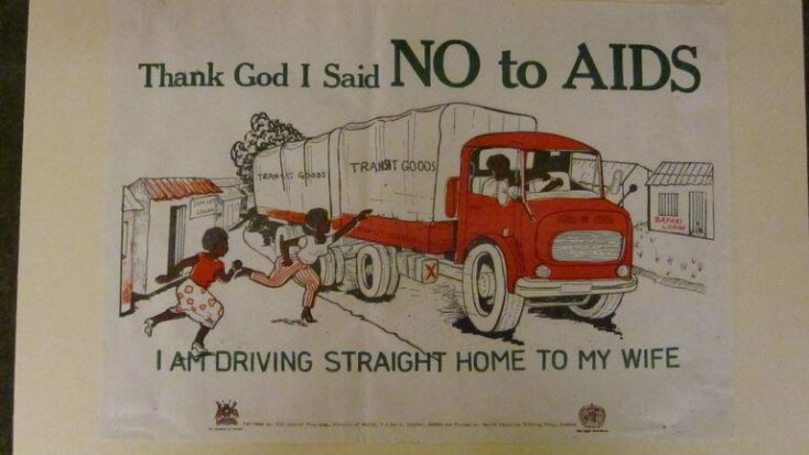 Thank God I said no to AIDS top image