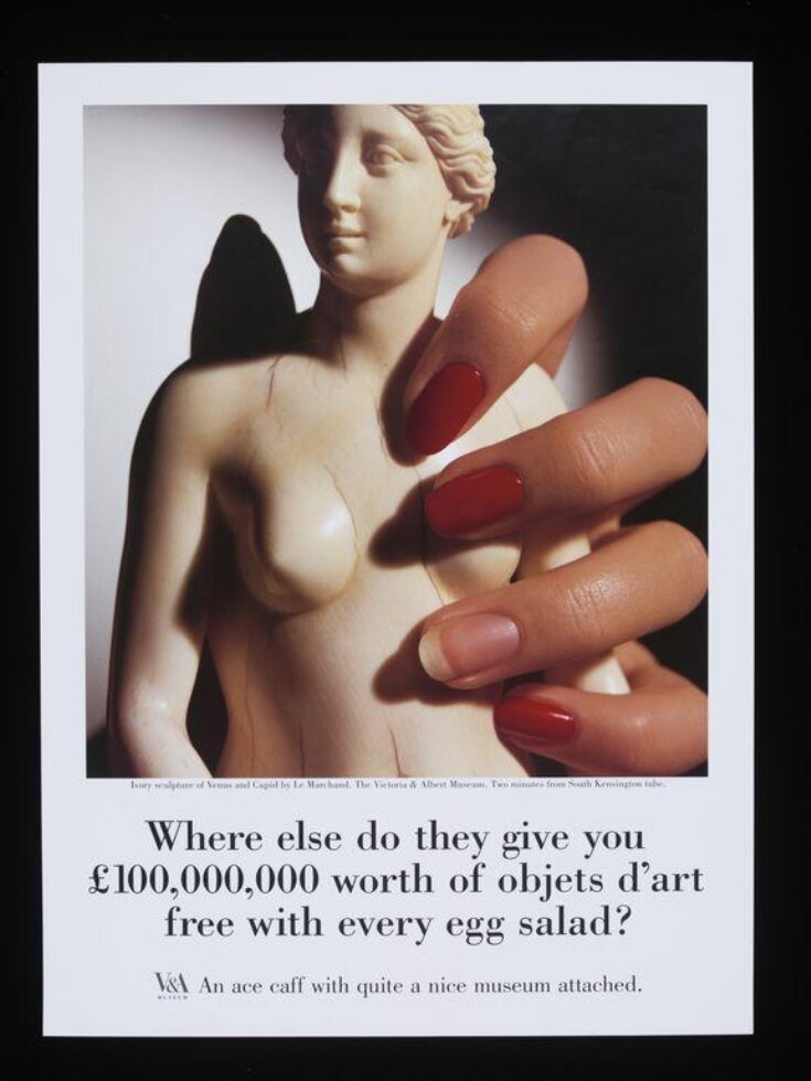 Where else do they give you £100,000,000 worth of objets d'art free with every egg salad? top image