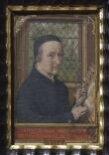 Self-portrait of Simon Bening, aged 75 in 1558 thumbnail 2