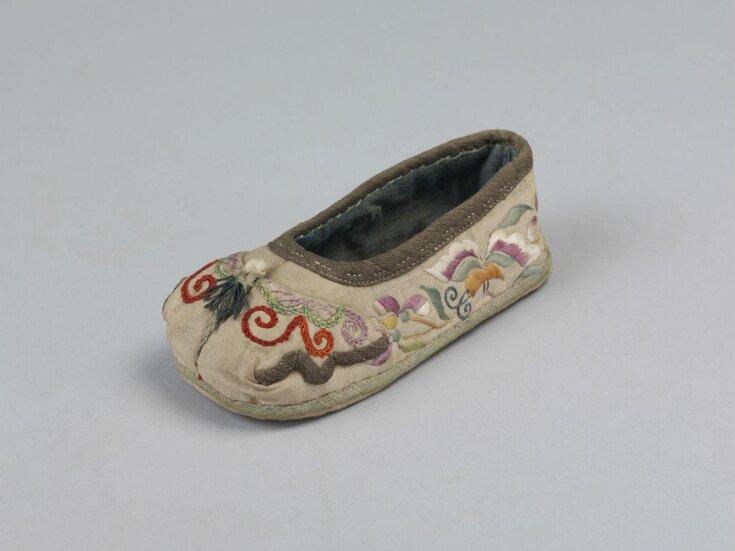 Child's Shoe top image