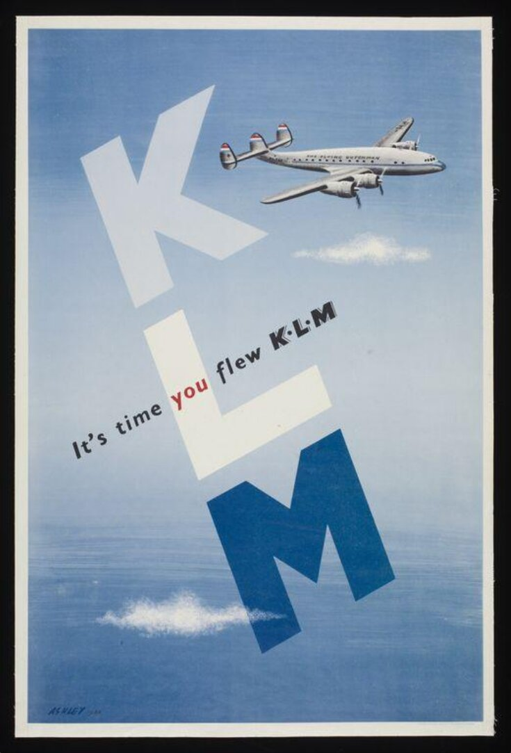 It's time you flew K.L.M. top image