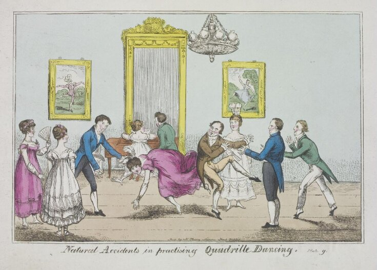 Natural Accidents in practicing Quadrille Dancing top image