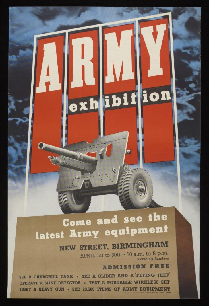 ARMY exhibition - Come and See the Latest Army Equipment top image