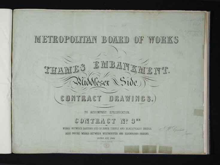 Thames Embankment- Middlesex side top image
