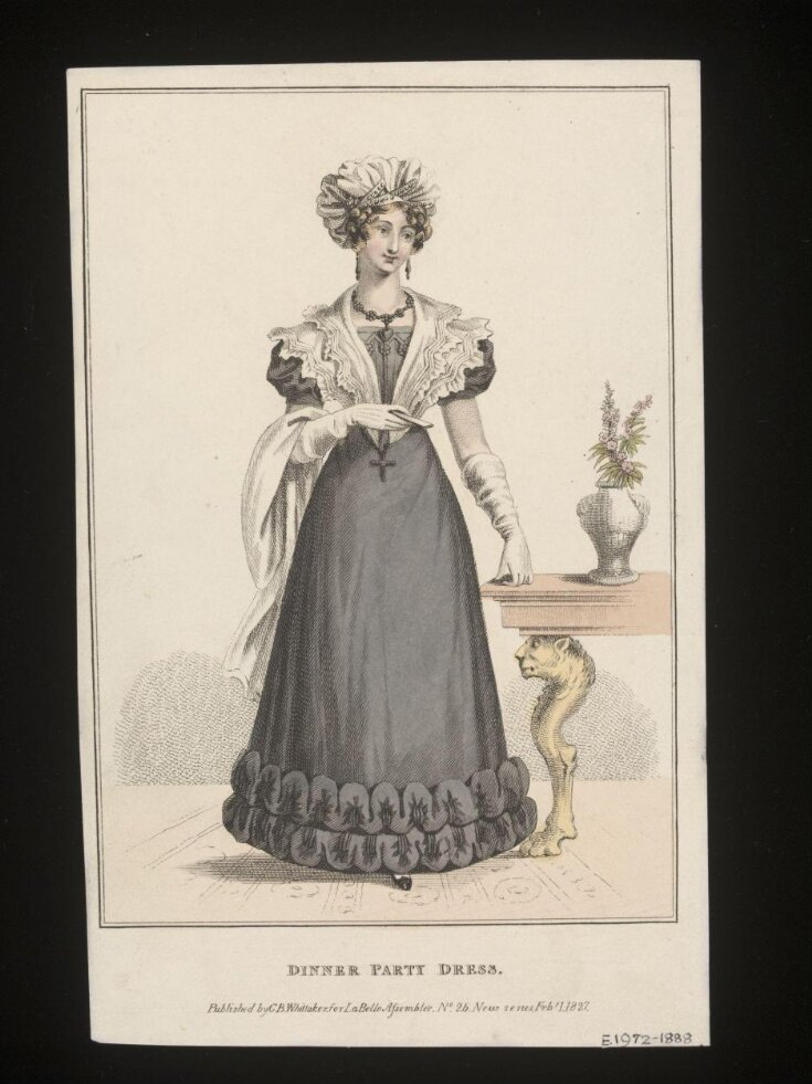 La Belle Assemblée or, Bell's Court and Fashionable Magazine Addressed Particularly to the Ladies top image