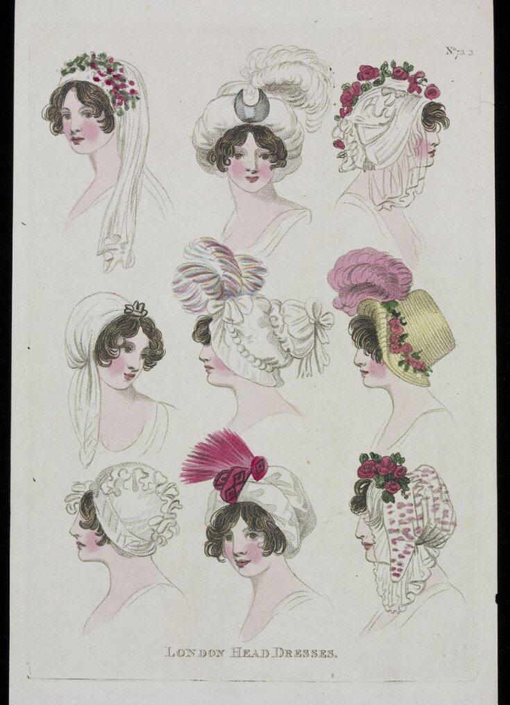 London Head Dresses top image