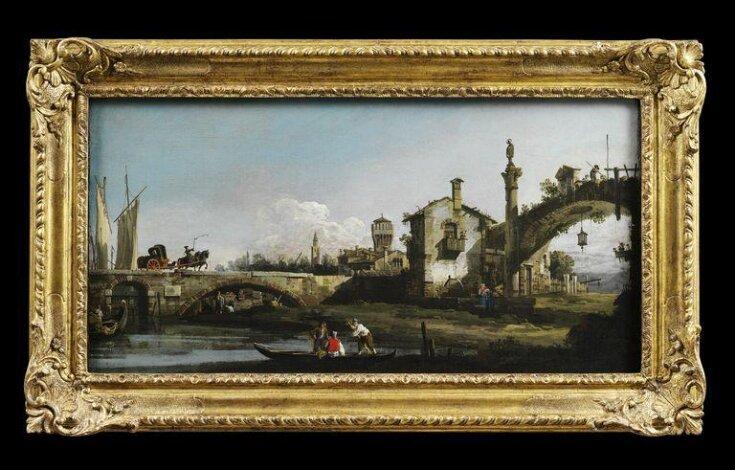 Capriccio with Two Bridges and Figures top image