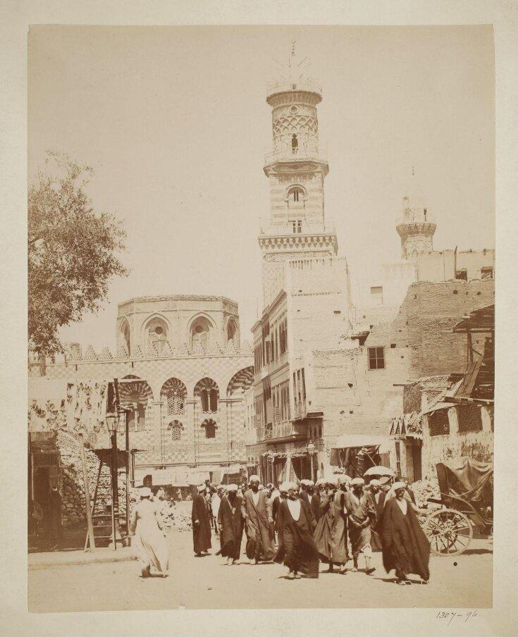 The mosque of Mamluk Sultan al-Mansur Qalawun, Cairo top image