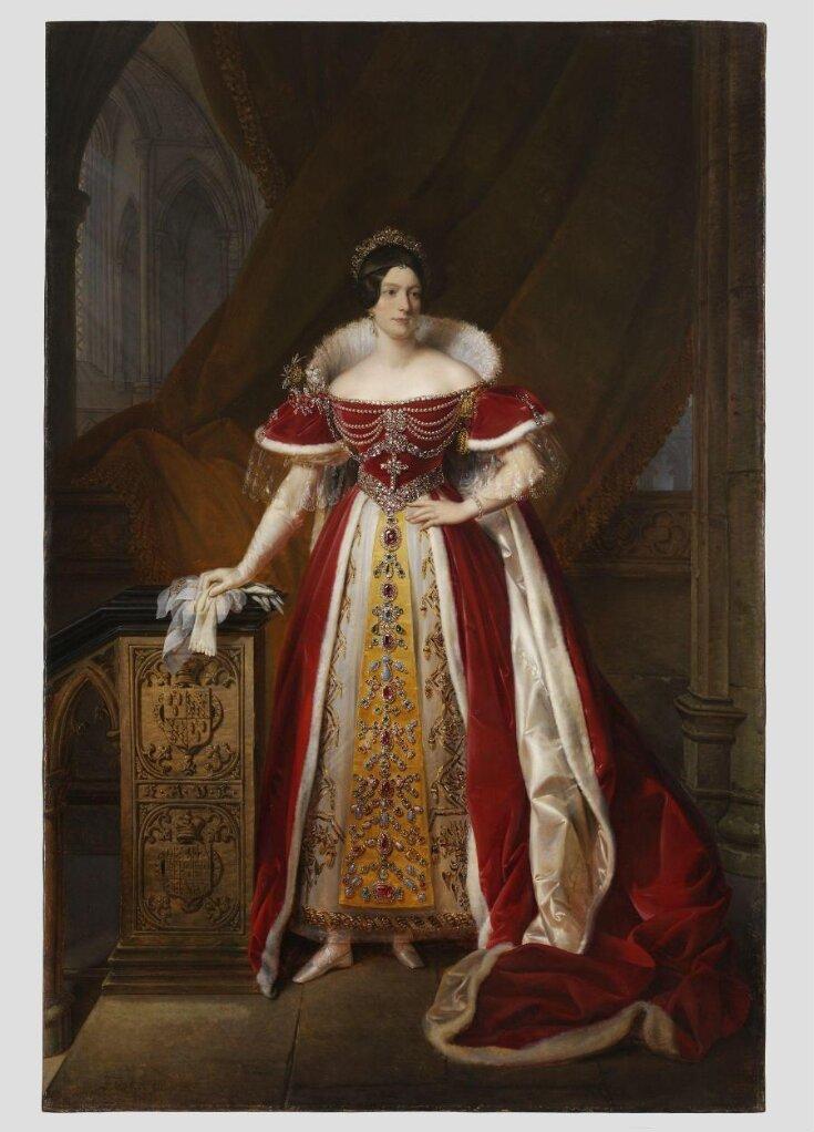 Portrait of Frances  Anne Vane, Marchioness of Londonderry top image