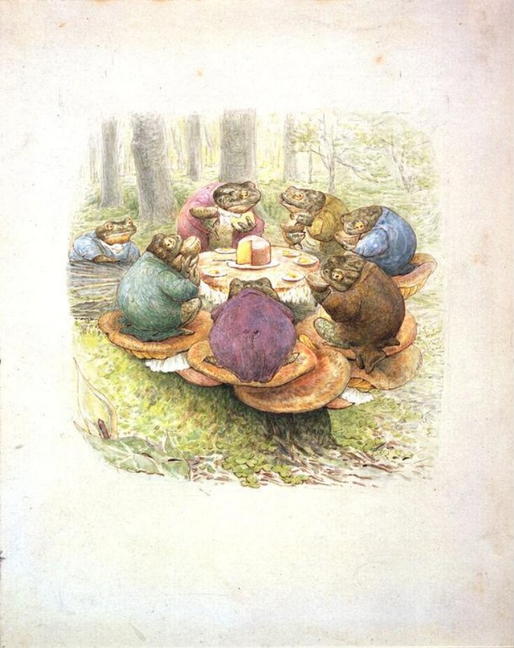 The Toads' Tea Party top image