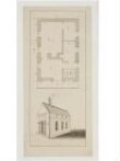 Plan and elevation of 'Goose-Pie House', Whitehall thumbnail 2