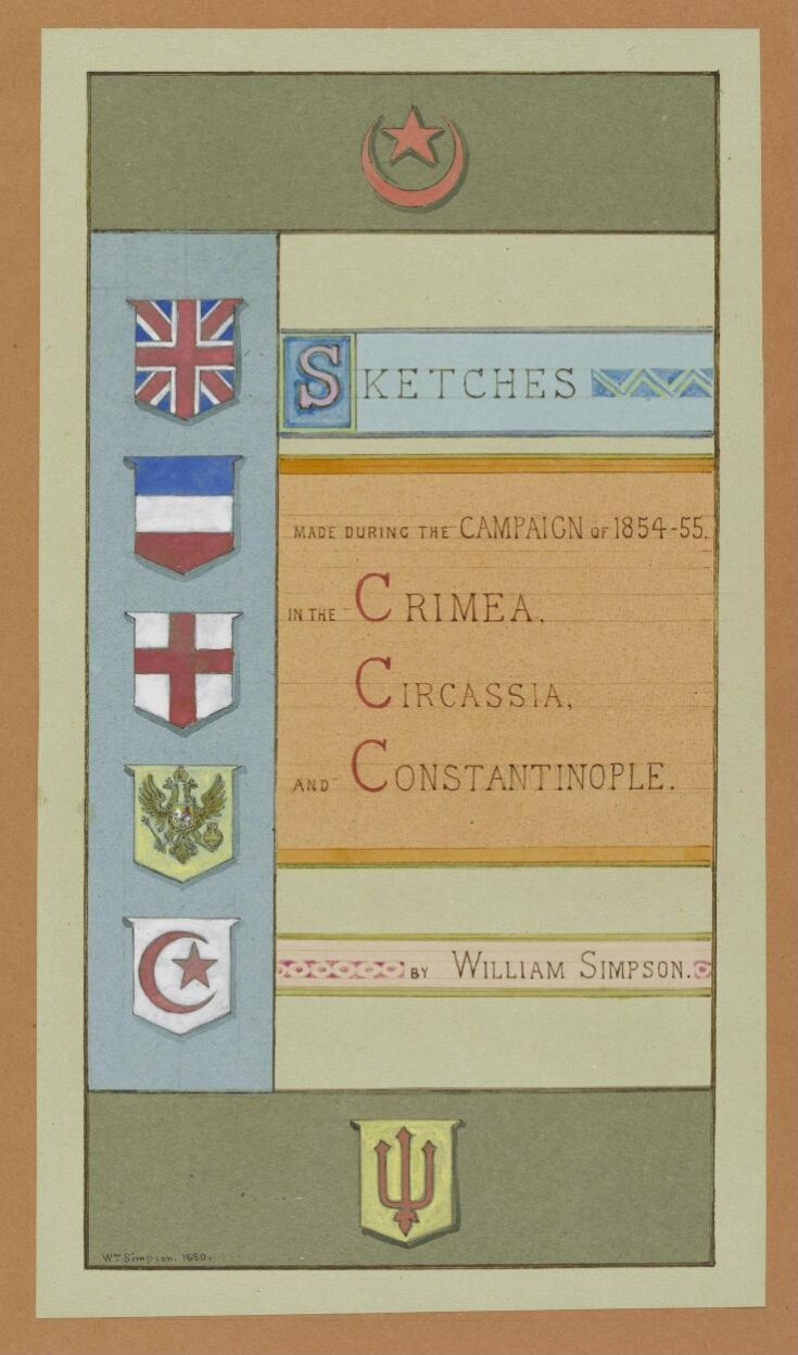 Sketches made during the Campaign of 1854-55 in the Crimea, Circassia and Constantinople top image