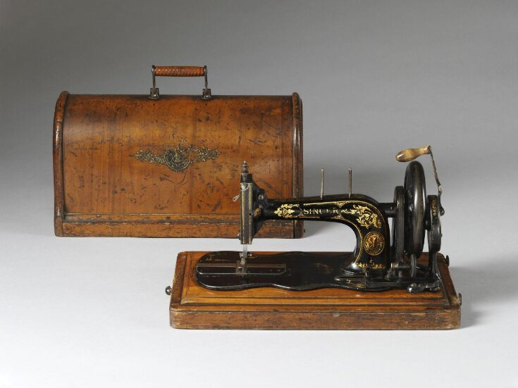'New Family' sewing machine (model 12/12k) top image