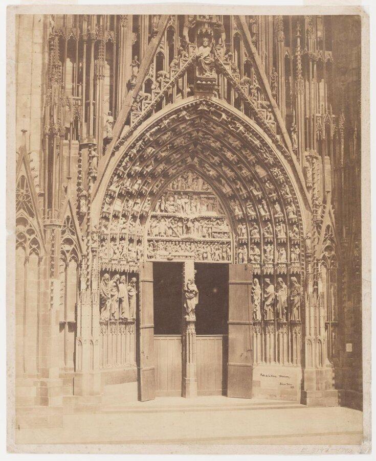 Porte de la Vierge, Strasbourg, 1858 top image
