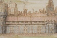 Nonsuch Palace from the South thumbnail 1