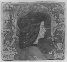 Profile bust of a man facing right thumbnail 1