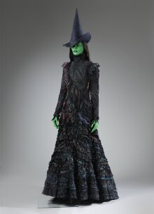 Costume worn by Kerry Ellis as Elphaba in Wicked, Apollo Victoria Theatre, 2006 thumbnail 1