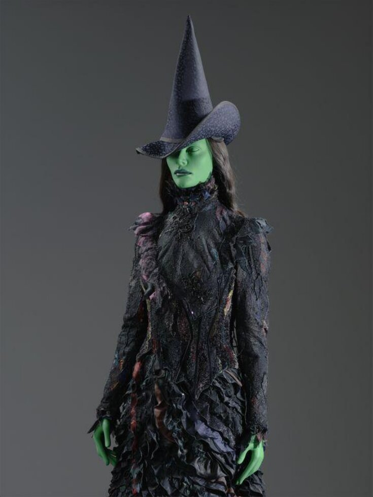 Costume worn by Kerry Ellis as Elphaba in Wicked, Apollo Victoria Theatre, 2006 top image