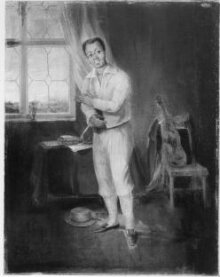 Ira Aldridge as Mungo in The Padlock by Isaac Bickerstaffe thumbnail 1
