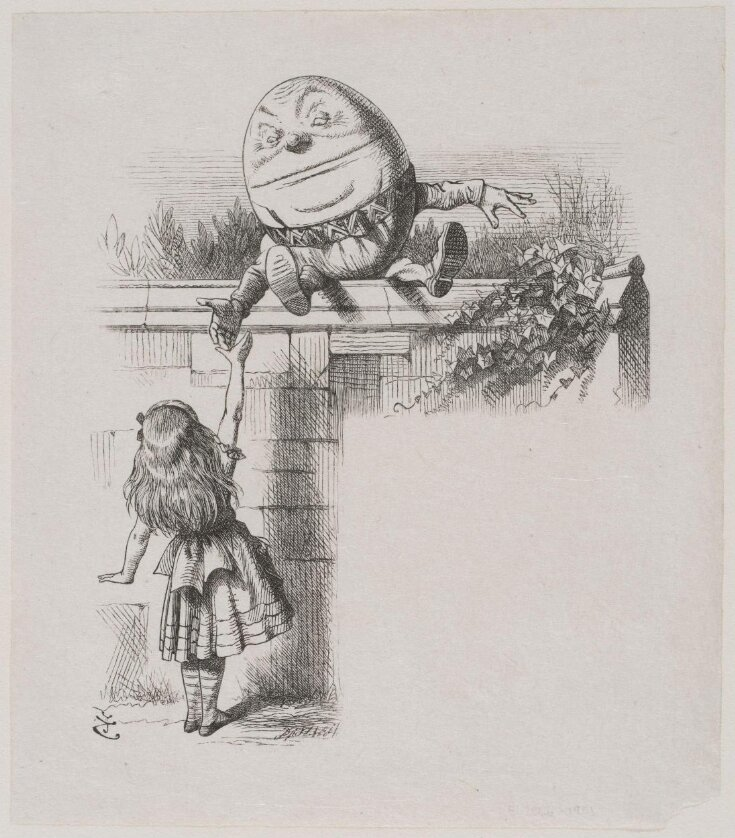 Humpty Dumpty on the wall top image