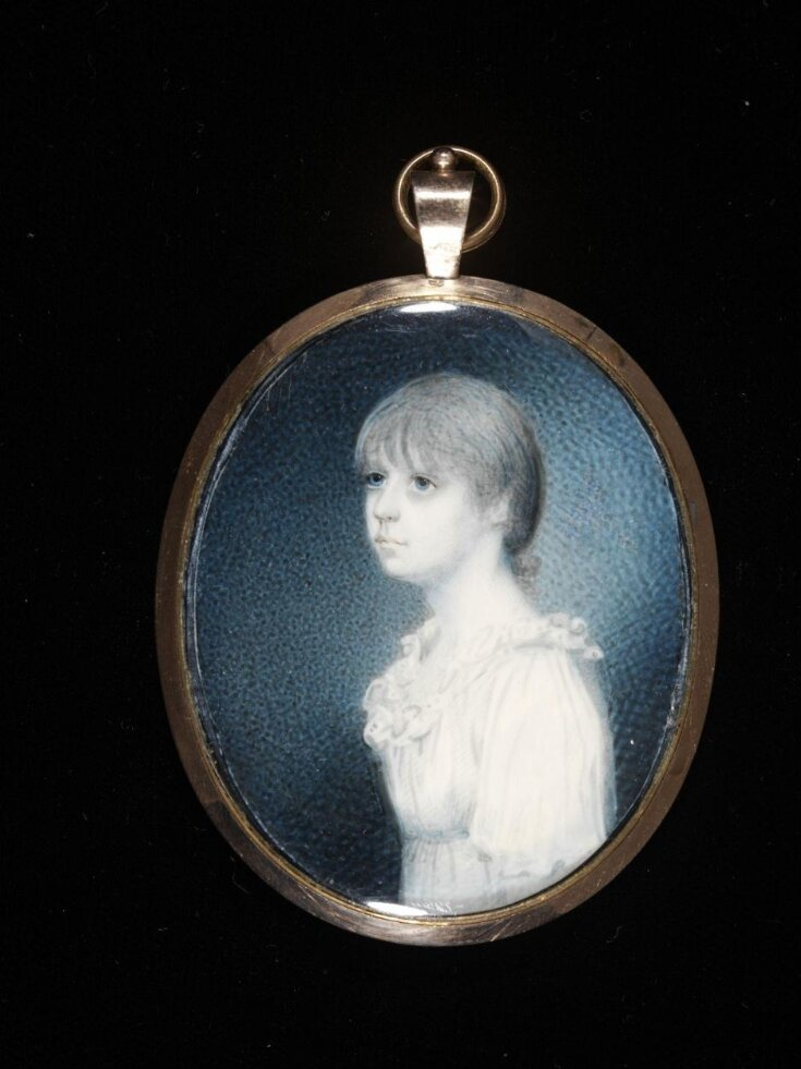 Portrait miniature of Mrs. France Mary Fanshaw née Dalrymple top image