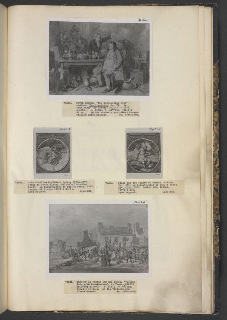 Village Fair, with mountebanks top image