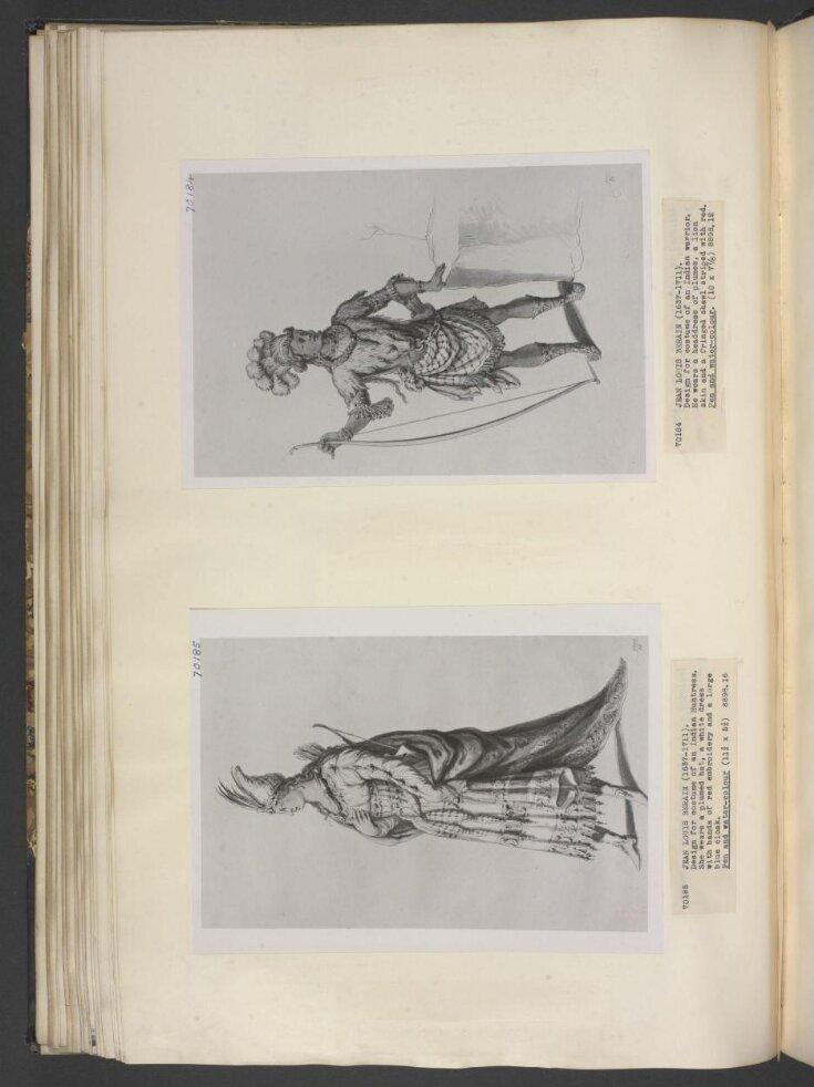 design for Indian huntress top image