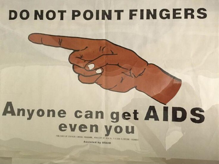 Do not point fingers. Anyone can get AIDS. Even you top image