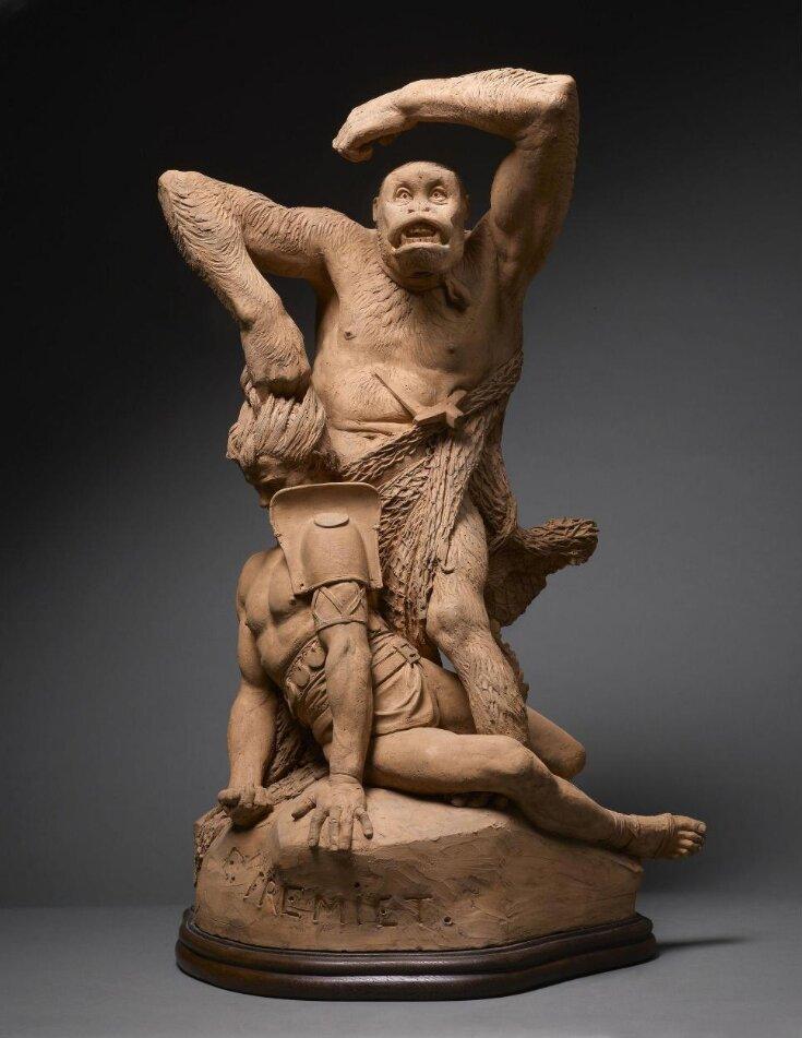 Gorilla defeating a Gladiator  top image