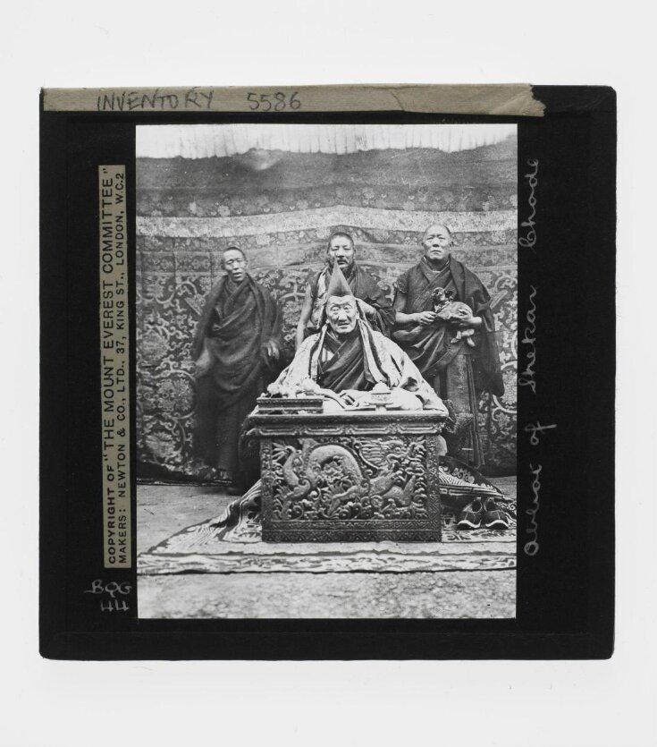 Slide 44. Abbot of Shekar Chote top image