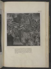 Copy of painting inside the caves of Ajanta (cave 1) thumbnail 1