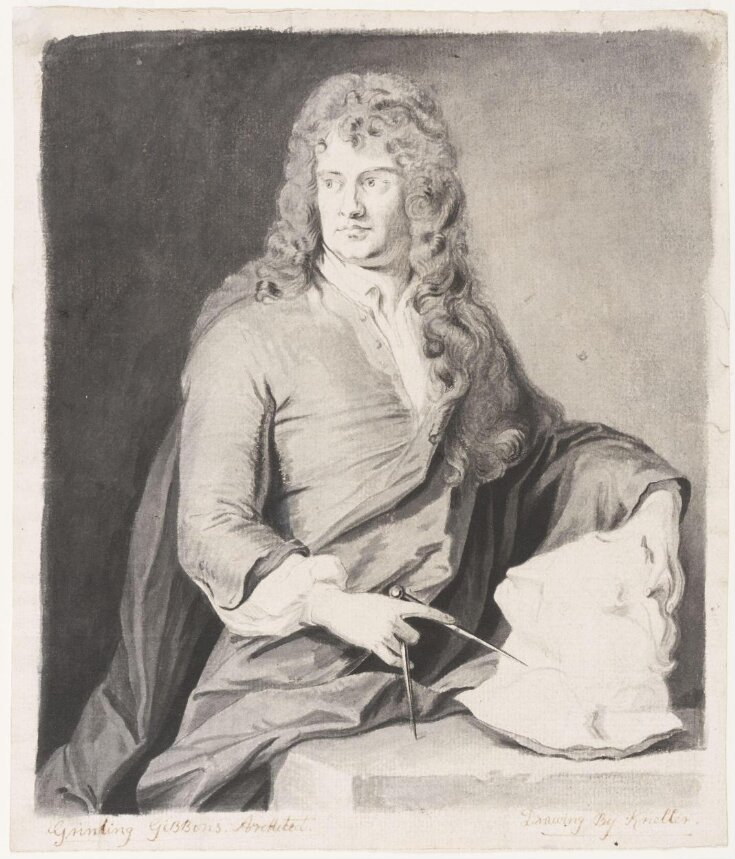 Portrait of Grinling Gibbons top image