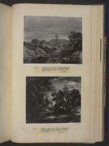 Wooded Moonlight Landscape with Pool and Figure at the Door of a Cottage thumbnail 1