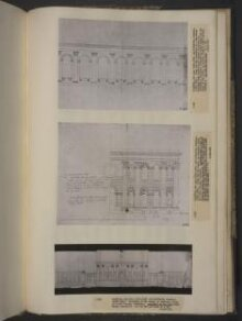 Elevation of the north, or entrance front of Castle Howard, Yorkshire. thumbnail 1