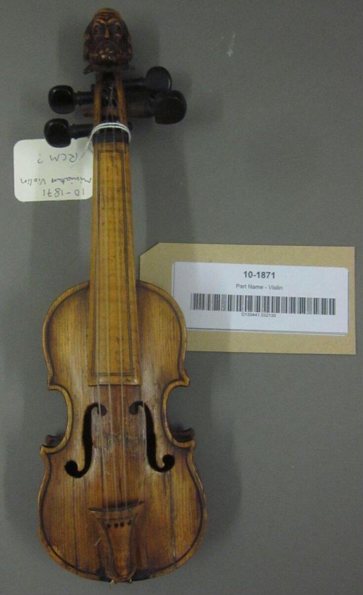Violin top image
