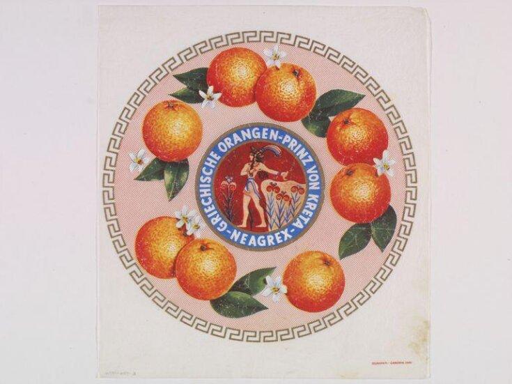 Griechische Oranges. Prinz von Kreta. Neagrex top image