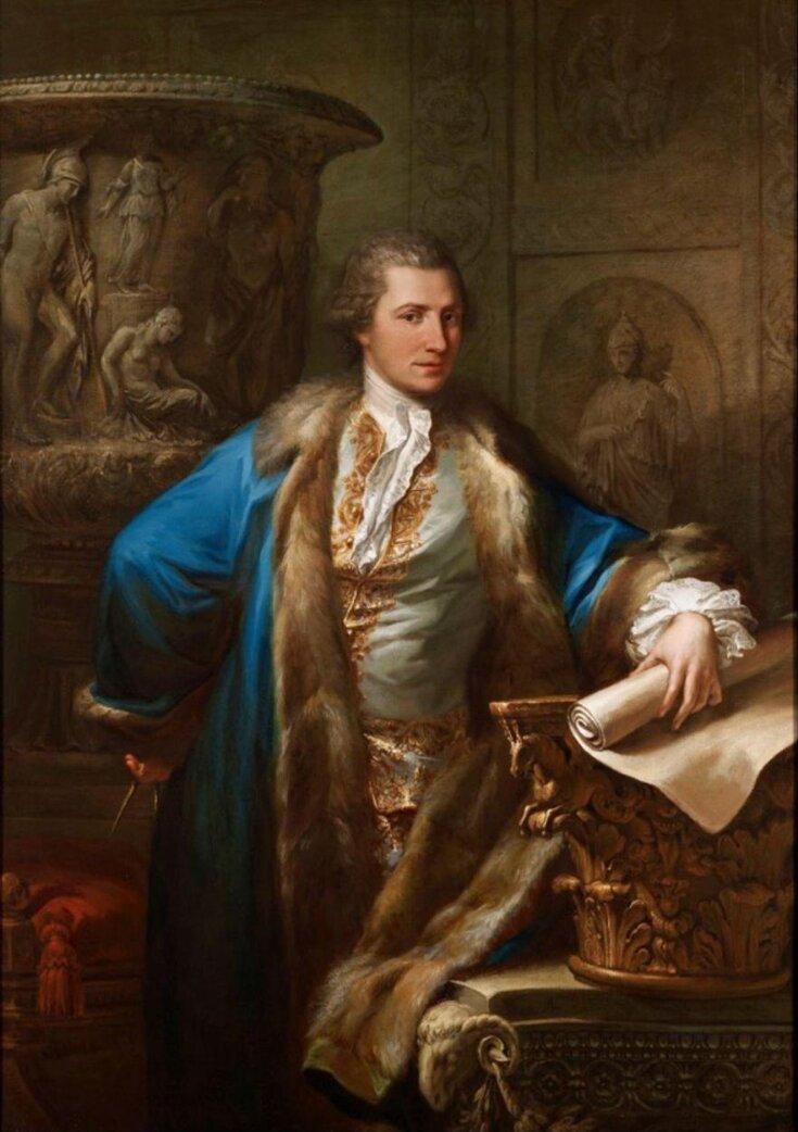 Portrait of James Adam top image