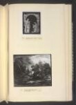 Wooded Moonlight Landscape with Pool and Figure at the Door of a Cottage thumbnail 2