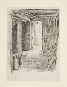 Interior of the potting-shed at Bedwell Lodge, Hertfordshire thumbnail 1