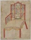 Design for an armchair for the 4th Duke of Beaufort thumbnail 2