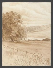 A Ford on the Tweed at Coldstream thumbnail 1