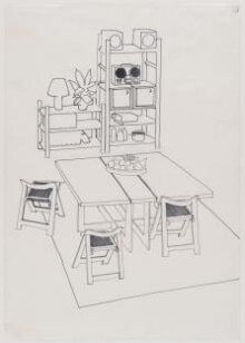 Design for a dining room thumbnail 1